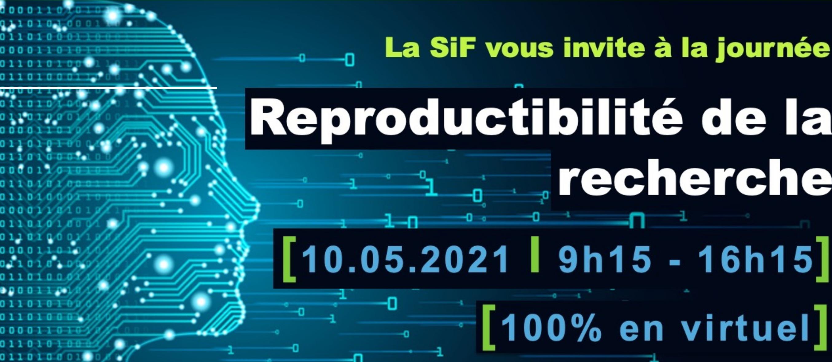 Journee SIF Reproductibilité
